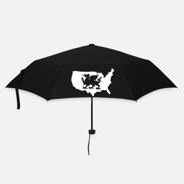 Usa USA Welsh Dragon - Umbrella