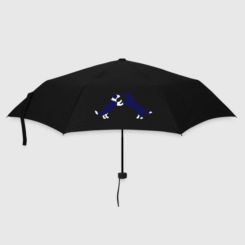 dog dancing Border Collies  - Umbrella (small)