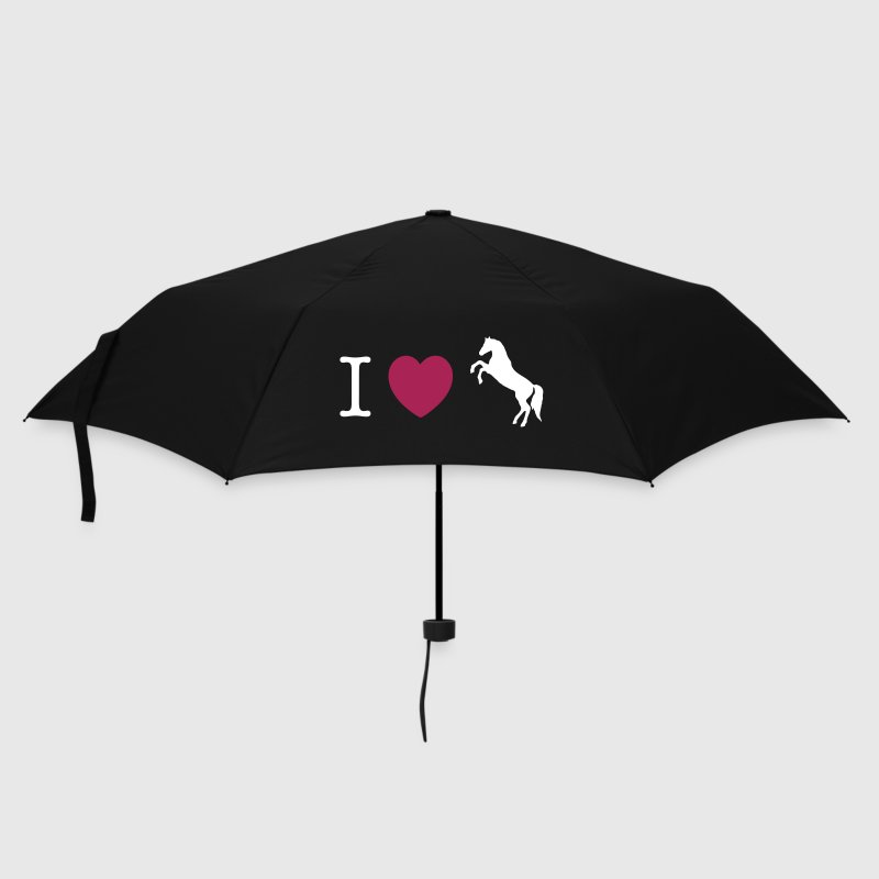 I love Ponies wild horse - this design lets you change all colours - Umbrella (small)