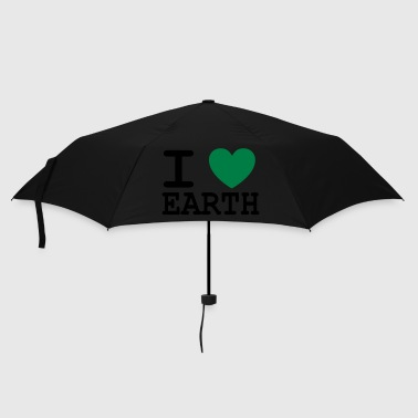 I *heart* earth! - Umbrella (small)
