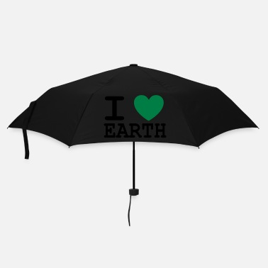 Global I *heart* earth - Regenschirm