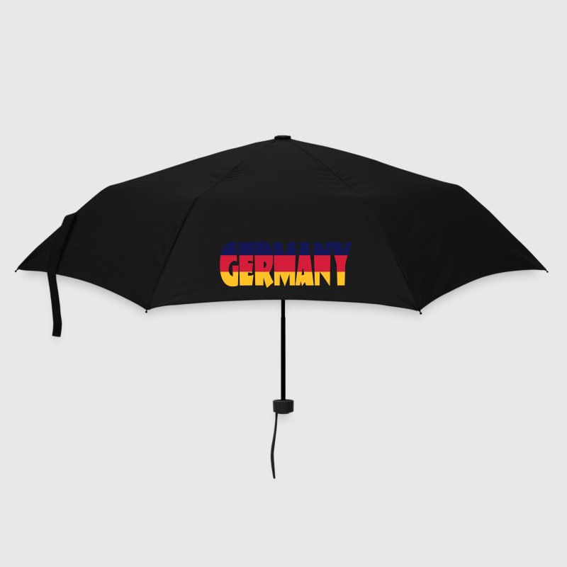 Germany Flagge Wort - Umbrella (small)