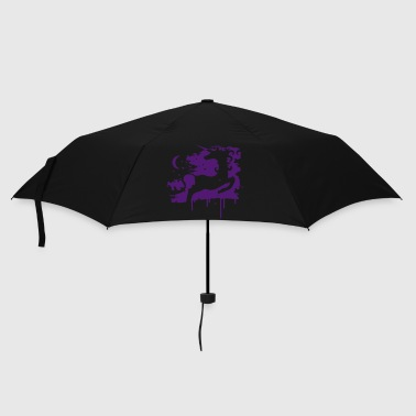 The unicorn and the moon - Umbrella (small)