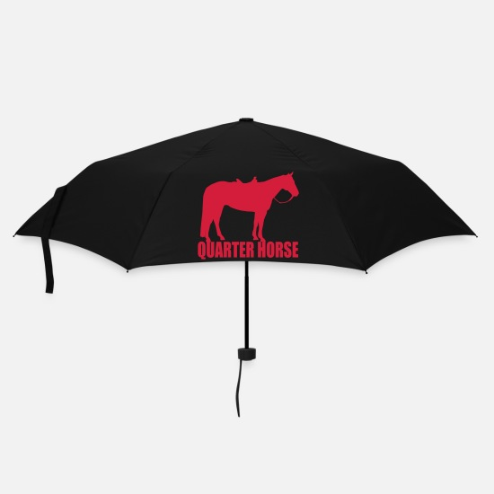 Quarterhorse Umbrellas - Quarter Horse - Umbrella black