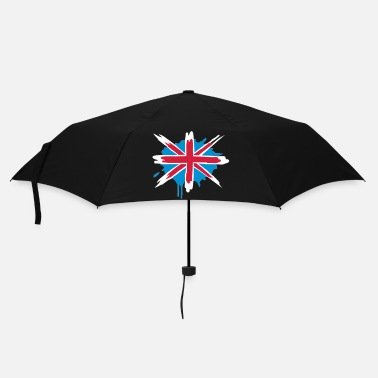 Painting A painted English flag - Umbrella