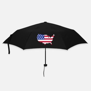 Strip Stars and Stripes of USA, United States of America  - Parapluie standard
