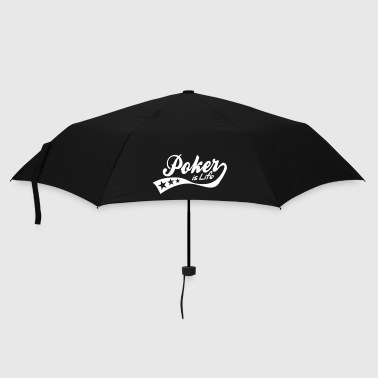 Blackjack poker is life - retro - Umbrella (small)