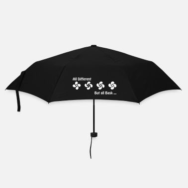 Différent All Bask but all different - Parapluie standard