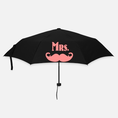 Sir Mrs. Mustache - Paraply (litet)