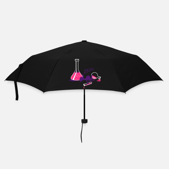 Animals Umbrellas - The laboratory - Umbrella black