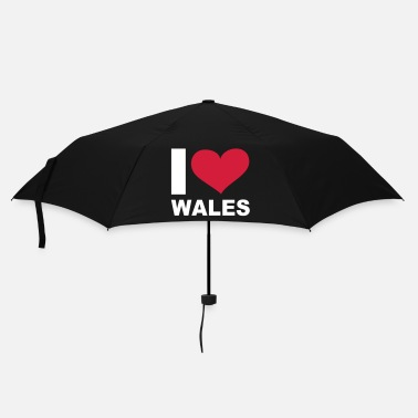 Gb I LOVE Wales - eushirt.com - Umbrella