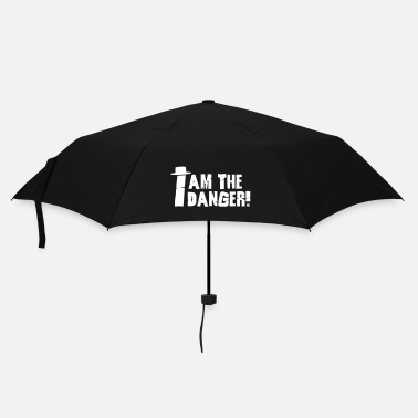 Tv I am the danger with hat - Ombrello tascabile
