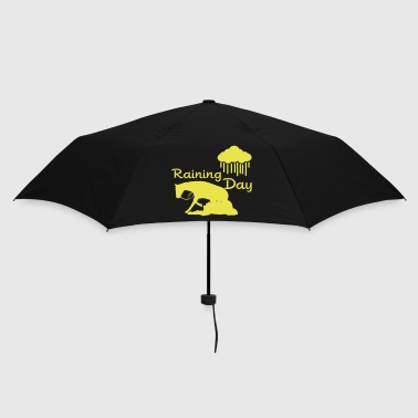 Raining - Reining Day - Umbrella (small)