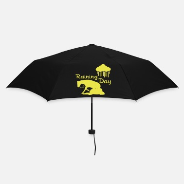 Equestrian Sports Raining - Reining Day - Umbrella
