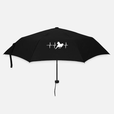 Gallop My heart beats for horses! - Umbrella (small)