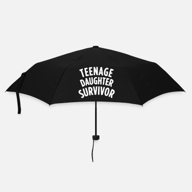 Dochter TEENAGE DAUGHTER SURVIVOR Shirts met lange mouwen - Paraplu (klein)