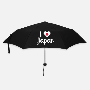Cinese I love Japan - Ombrello tascabile