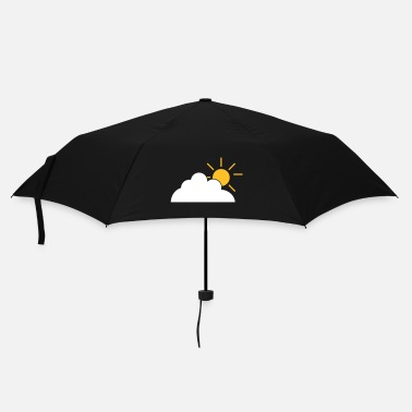 Cloud cloud and sun - Umbrella (small)