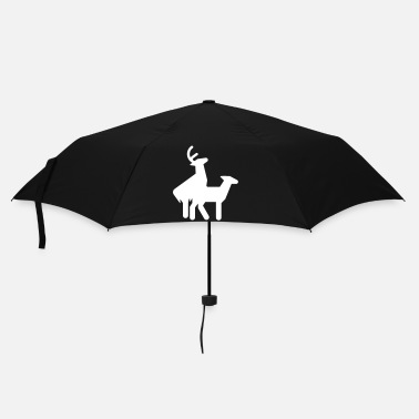 Deer Fuck christmas - Umbrella (small)