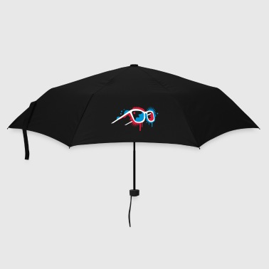 3D glasses in graffiti style - Umbrella (small)