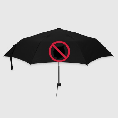 Thailand NO Durian Fruit Sign - Umbrella (small)