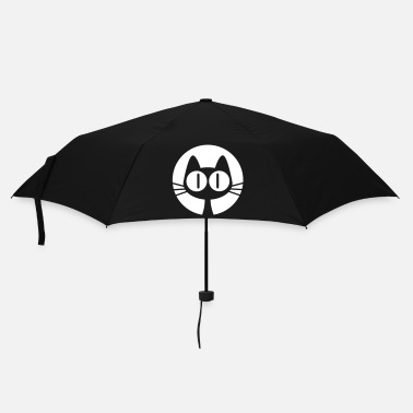 Lune Chat de Lune par Cheerful Madness!! - Parapluie standard