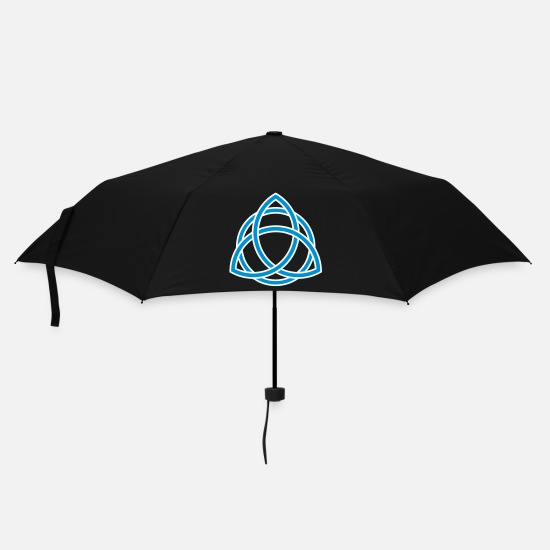 Skull Umbrellas - celtic_5 - Umbrella black