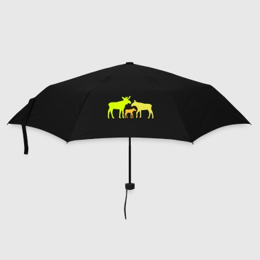 Moose family is - Umbrella (small)
