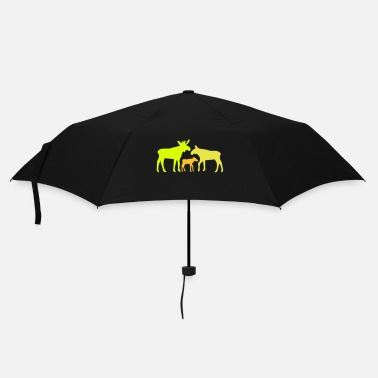 Norway Moose family is - Umbrella (small)