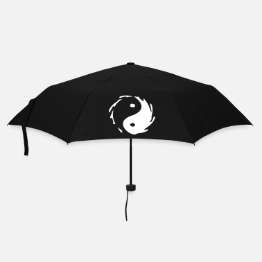 Cinese Yin-Yang Splash - Ombrello tascabile