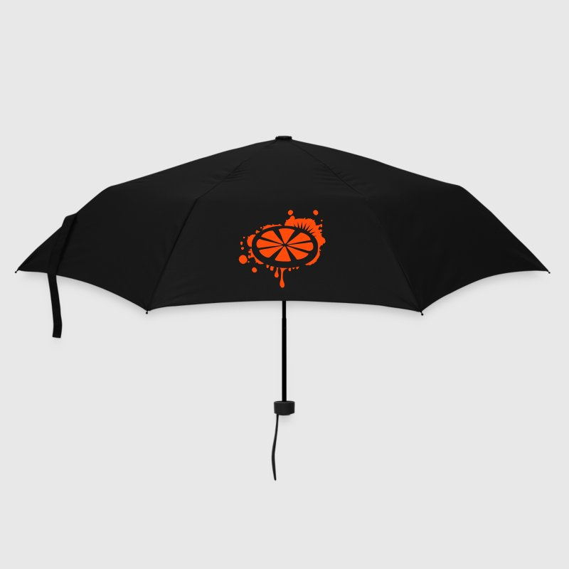 A slice of lemon as a graffiti - Umbrella (small)