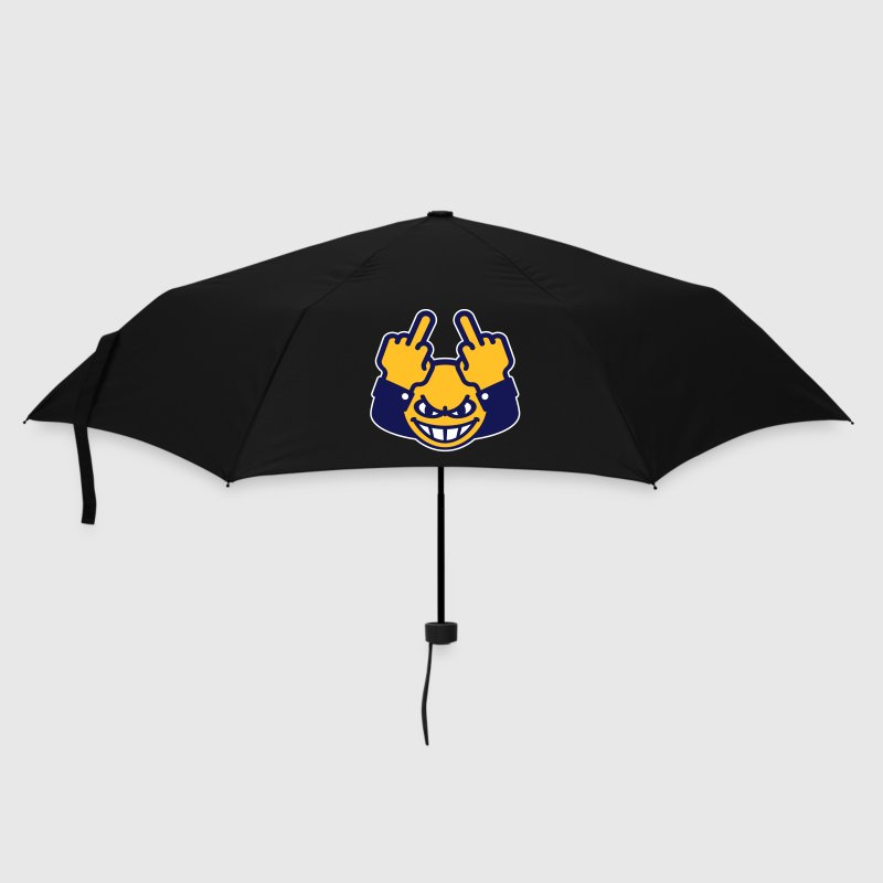 Nasty Emoticon (fuck off / fuck you, 3C) - Umbrella (small)