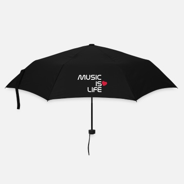 Concert music is life heart NL - Paraplu (klein)