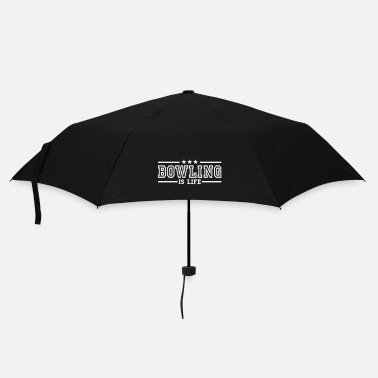 Bowling bowling is life deluxe - Parapluie standard