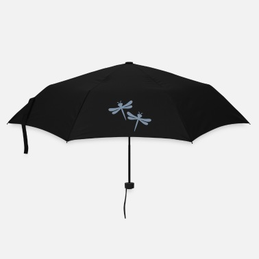 Dragon two dragon-flies - Umbrella (small)