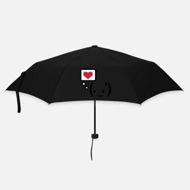 Expression think love expression  Rosaly  - Parapluie standard