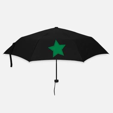 Collections Green star - Umbrella (small)