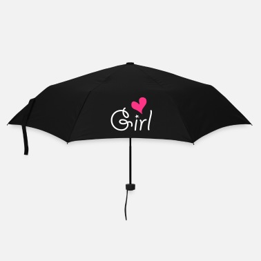 Girlie Girl with ♥ - Parapluie
