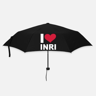 Jesus I LOVE INRI - eushirt.com - Umbrella