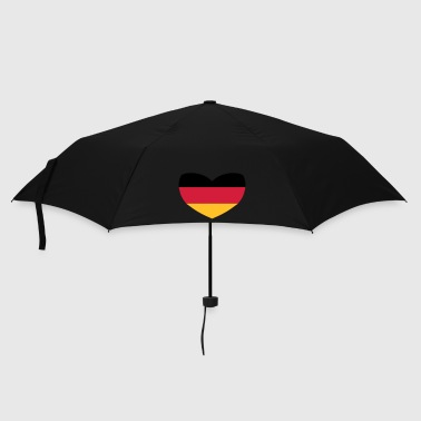 German Heart Flag - Umbrella (small)