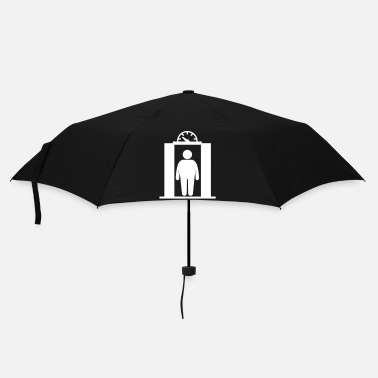 Country fat elevator man - Parapluie standard