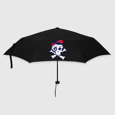 Skull And Crossbones Skater Skull - Umbrella (small)
