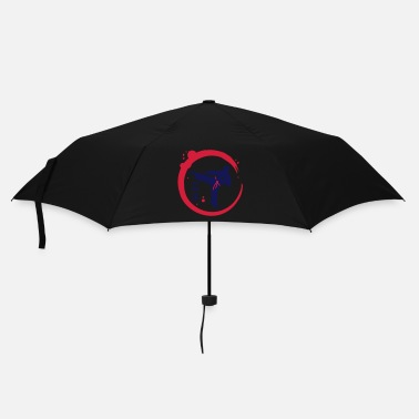 Martial Arts Karate calligraphy - Umbrella