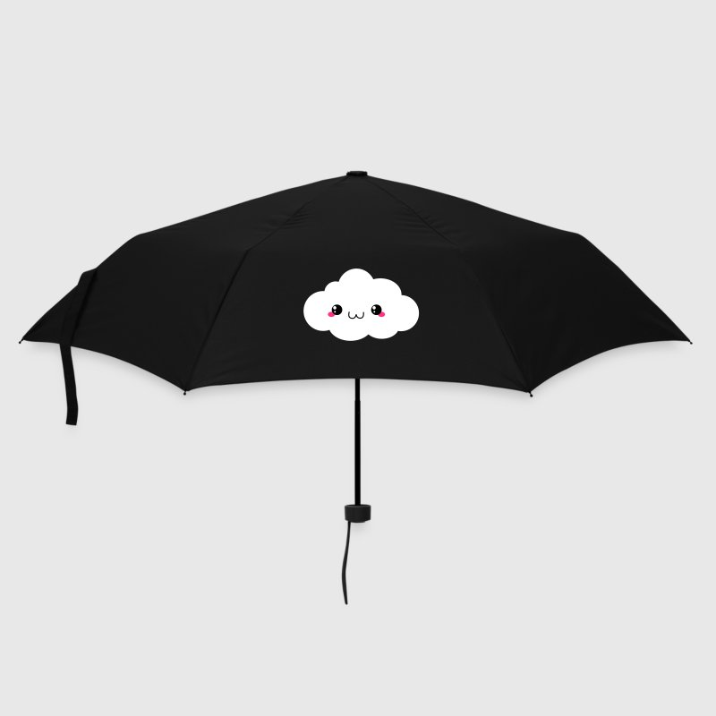 Happy Kawaii Cloud - Umbrella (small)