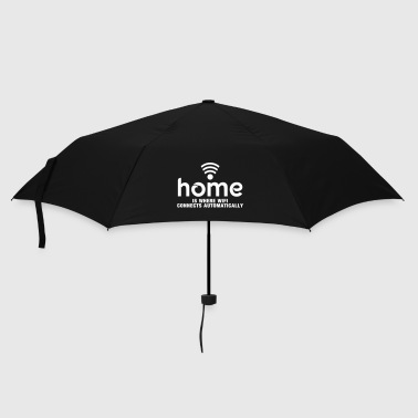 home is where the wifi connects automatically - Parapluie standard
