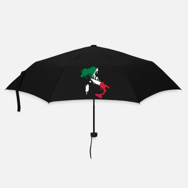Italian Flag Map of Italy Design - Umbrella (small)