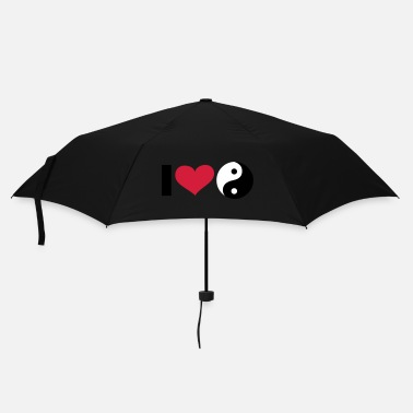 Bouddhisme iI LOVE Yin and Yang / ☯ - eushirt.com - Parapluie