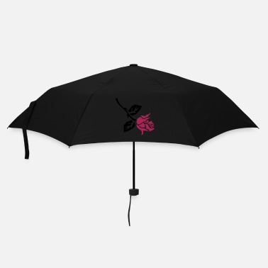 Rockabilly retro rose tattoo patjila - Umbrella (small)