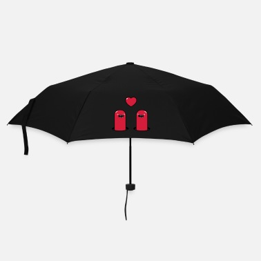 Nom Cute Monsters in Love - Parapluie standard