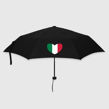 Italian Flag Heart - Umbrella (small)